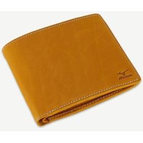 MIZUNO SHOP [ミズノ公式オンラインショップ] グラブ革二つ折財布(BOX小銭入式) 54 オレンジ 1GJYG03000