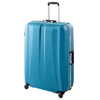 SALE 【World Traveler】バロス スーツケース【10泊以上対応】 ブルー
