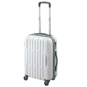 SALE 【World Traveler】アクシーノ スーツケース【機内持込みサイズ】【1-2泊対応】 ホワイトカーボン