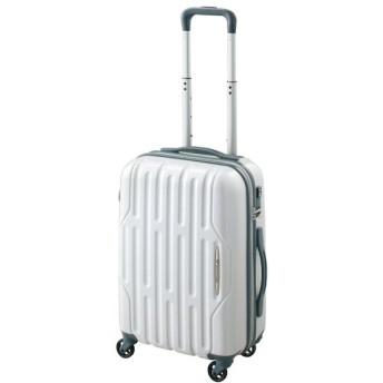 【World Traveler】アクシーノ スーツケース【機内持込みサイズ】【1-2泊対応】 ホワイトカーボン