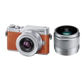 パナソニック Panasonic ミラーレス一眼カメラ LUMIX GF9 ダブルレンズキット オレンジ DC-GF9W-D