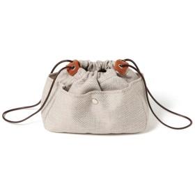 ポーチ - REAL STYLE ヘリンボーンバッグインバッグ レディース 鞄 かばん ポーチ 化粧ポーチ 収納ポーチ 小物入れ インナーバッグ バッグ収納 小さめ軽量整理 大容量 ママ マザー 旅行 レジャー トラベル コンパクト 韓国ファッション