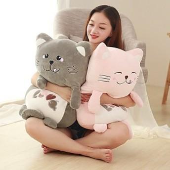ねこぬいぐるみ 抱き枕猫 クッションネコ お誕生日 記念日プレゼント ギフト 可愛い ねこ 40cm