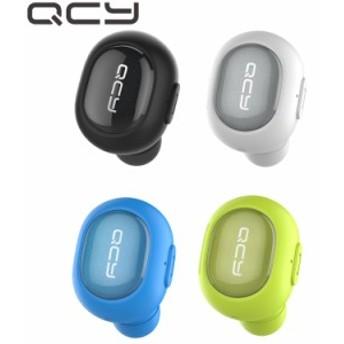 QCY ワイヤレスイヤホン【QCY Q26Pro】 Bluetooth 4.1 イヤホン ランニング ブルートゥース 軽量 片耳 イヤホン ビジネス ヘッドセット