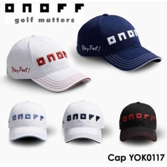 【2017モデル】オノフ YOK0117 メンズ ゴルフキャップ ONOFF