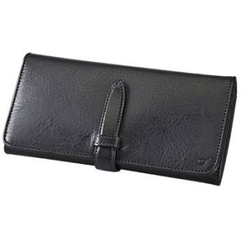 SOMES AVN-02 ラウンド財布(ブラック)