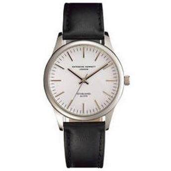 キャサリン  キャサリン ハムネット アプライドインデックス腕時計 ホワイト  KH20G6−04