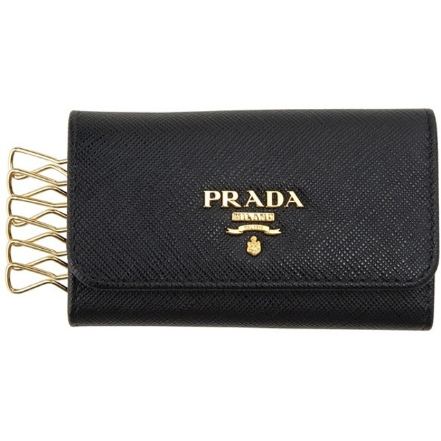 プラダ PRADA キーケース ブラック