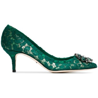 Dolce & Gabbana Bellucci 60 パンプス - グリーン
