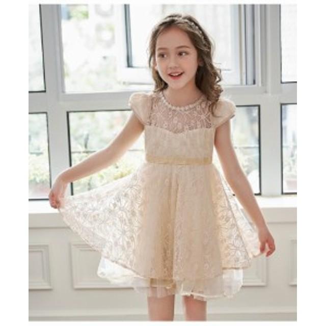 6d7cf79deb6e7 2018新作 子供フォーマルワンピース キッズドレス お姫様可愛い 女の子ドレス 韓国 子供服スーツ 卒