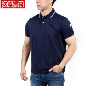 【送料無料!】モンクレール 83029 ネイビー サイズ S メンズ ポロシャツ 【MONCLER NV】