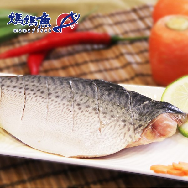 《媽媽魚N》挪威鯖魚魚排(150g/片,共3片)