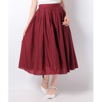 allureville アルアバイル ランダムタックギャザースカート