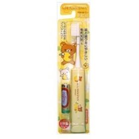(まとめ)ミニマムハピカ電動歯ブラシリラクマDB-5Y 【×3点セット】