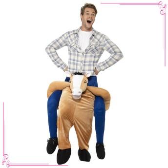 ハロウィン用コスチューム - Retica Tika ティカ ピギーバックホースコスチューム 2020ハロウィン 大人気 アメリカ直輸入 インパクト 馬 ズボン メンズ 男コスチューム コスプレ 目立つ パーティー イベント