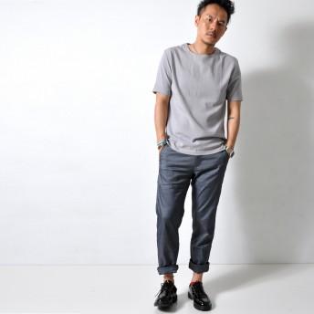 Tシャツ - RAiseNsE シンプル ストレッチTシャツ プルオーバー 半袖 トップス メンズ 伸縮性 ユニセックス[4色]#TA133