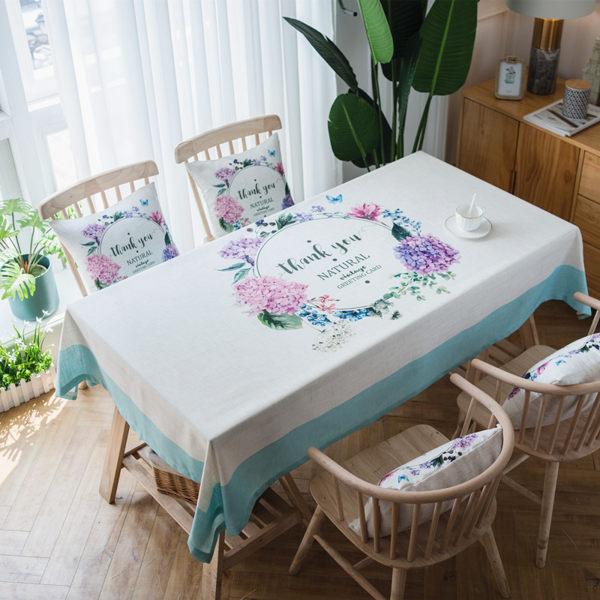 時尚可愛空間餐桌布 茶几布 隔熱墊 鍋墊 杯墊 餐桌巾508 (100*160cm)