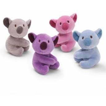 (4個セット)(GUND) コアラクリップ(ぬいぐるみ・クリップ) グレー・ブルー・ピンク・パープルの4色セット (4030283) 約10c
