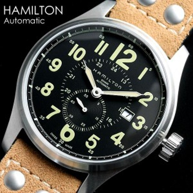 outlet store 610e8 2810c ハミルトン カーキ フィールド オート H70655733 腕時計 メンズ ...