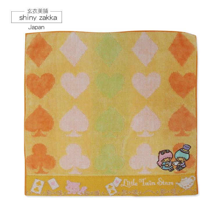 日本毛巾-Sanrio三麗鷗小方巾-雙子星-玄衣美舖