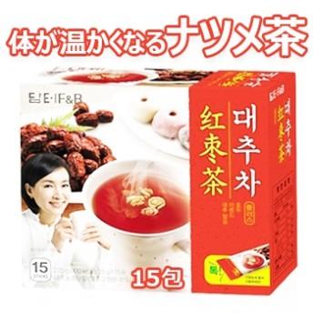 ダムト なつめ茶 15包 粉末スティック状 ナツメ茶 粉末茶 伝統茶 健康茶 韓国お茶 韓国飲料 韓国ドリンク