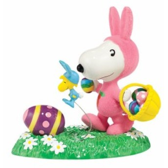 SNOOPY(スヌーピー)(Department56)It's The Easter Beagle(送料無料)(コインバンク、置物、キャラクター