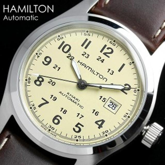 best website 0f6f3 02e68 ハミルトン カーキ フィールド オート H70555523 腕時計 メンズ ...
