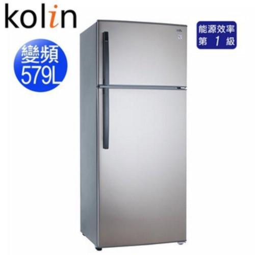 歌林 Kolin 579L 雙門變頻電冰箱 KR-258V02