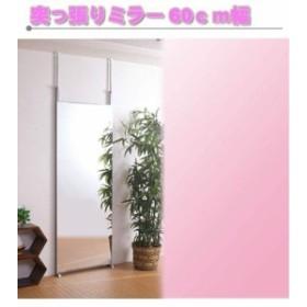壁面ミラー60幅(壁面収納) nj-0007 (送料無料)(姿見鏡)