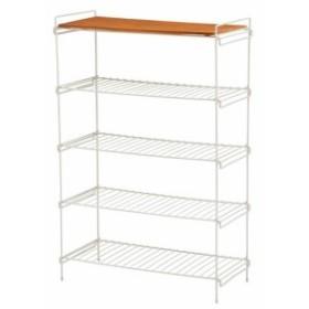 KR-3838WH ラック ホワイト(送料無料)(オープンラック、シェルフ、リビング家具、収納家具、本棚、書棚)
