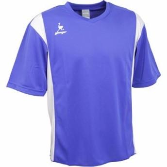 ヤンガー(younger) ゲームシャツ Dブルー/ホワイト YSG1200 【サッカー トレーニングシャツ Tシャツ メンズ】