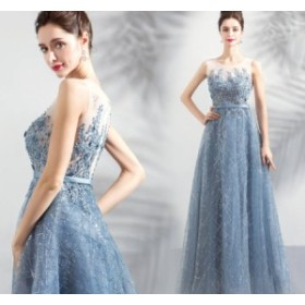 ウェディングドレス 結婚式ワンピース ブライズメイド きれいめ ノースリーブ 丸襟 お呼ばれ 同窓会 謝恩会 結婚式 パーティードレス