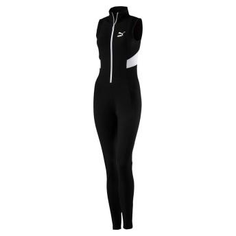 【プーマ公式通販】 プーマ RETRO RIB JUMPSUIT ウィメンズ Puma Black  CLOTHING PUMA.com