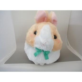 うさだまちゃん BIG カフェもふ 28cm (送料無料)(うさぎ、ウサギ、兎、人形、玩具、おもちゃ、ぬいぐるみ、キャラクターグッズ)