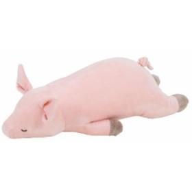 (プレミアムねむねむアニマルズ)抱きまくら Mサイズ (種類:ブタのピンキー)(28976-21)(送料無料)(ぶた、ブタ、豚、抱き枕、ク