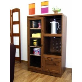 ビストロ レンジボード12075    BTC120-75G(送料無料)(食器棚、レンジボード、キッチンボード、キッチン収納,インテリア,家具,