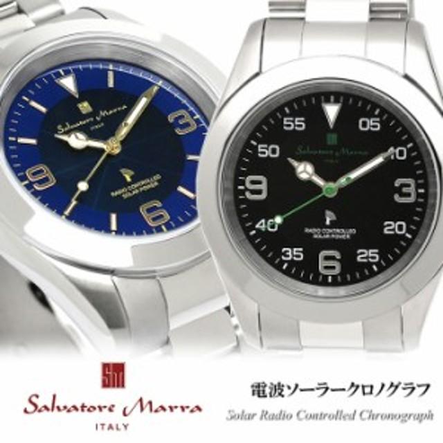 8c93a498641cfa 【送料無料】Salvatore Marra サルバトーレマーラ 電波 ソーラー 腕時計 ウォッチ メンズ 男性用 10
