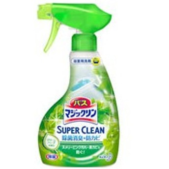 KAO/バスマジックリンSUPERCLEAN グリーンハーブの香り本体380ml