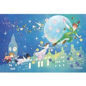 エポック社 パズルデコレーションミニ ディズニー Silhouette(ピーター・パン) 70ピースジグソーパズル 【返品種別B】