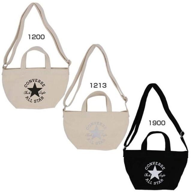 4a5ffd3abb93 コンバース メンズ レディース ミニトートショルダー ショルダーバッグ 肩掛け 鞄 バッグ オールスター ロゴ ALL STAR キャンバス  C1809054
