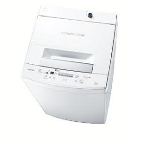 東芝 全自動洗濯機(4.5kg) AW−45M7(W) ピュアホワイト(標準設置無料)