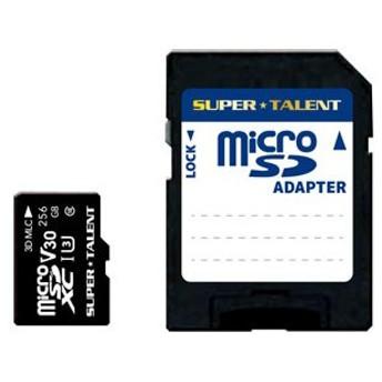 SUPERTALENT microSDXCメモリカード 256GB Class10 UHS-I Premium Pro Durable ST-56MSU3PD 返品種別A