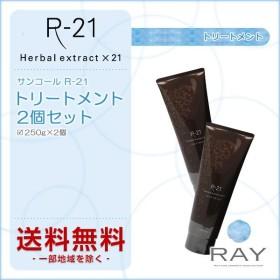 サンコール R-21 トリートメント 250g×2個セット|サンコール r21 エイジングケア ダメージケア 傷んだ 補修 ハリコシ アミノ酸 送料無料 あすつく対応