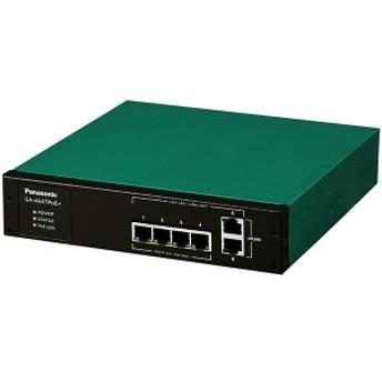 GA-AS4TPoE+ パナソニック PN25048 全ポートギガ レイヤ2 PoE給電スイッチングハブ 4ポート