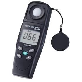 LX-204 カスタム  作業性の良い本体とセンサー一体型タイプの照度計