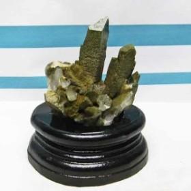 水晶 クラスター アメリカ産 グリーンファントム入り | クリスタル クォーツ 原石 浄化 172-42