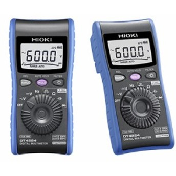 DT4224 日置電機 HIOKI 汎用高機能ポケットテスター 世界初の電圧入力保護機能付き安全テスター デジタルマルチメータ