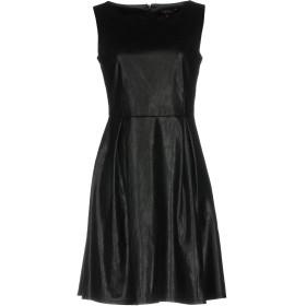 《セール開催中》POEMS レディース ミニワンピース&ドレス ブラック L ポリエステル 100%