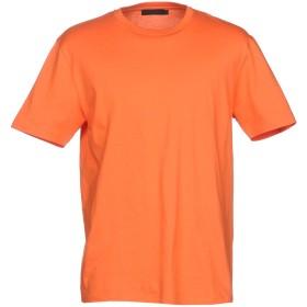 《期間限定 セール開催中》CALVIN KLEIN COLLECTION メンズ T シャツ オレンジ XS コットン 100%