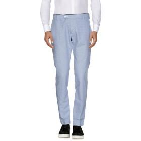 《セール開催中》MICHAEL COAL メンズ パンツ ダークブルー 28 コットン 70% / 麻 30%